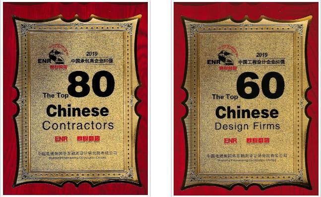 我院位列中国工程设计企业60强第1…